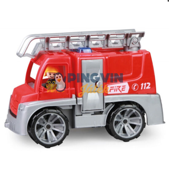 LENA: Truxx tűzoltó autó figurával 29cm