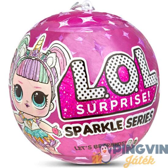 L.O.L. Surprise Csillogó baba kiegészítőkkel - Moose Enterprise