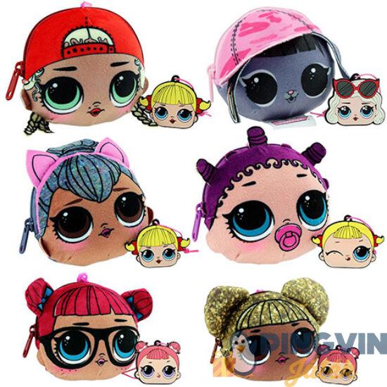 Epee - LOL Surprise: Plüss baba arc pénztárca többféle változatban (EP03490)