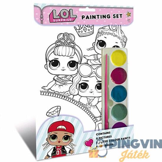 Kids Euroswan - LOL Surprise kifestő szett (3073LOLPS)