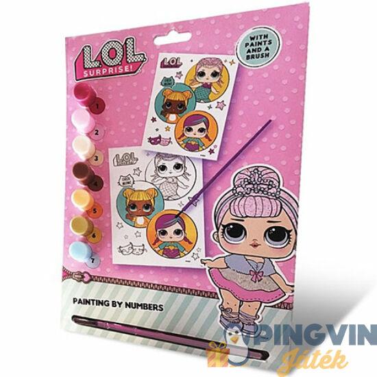 Kids Euroswan - LOL Surprise számos kifestő szett (3076LOLNU)