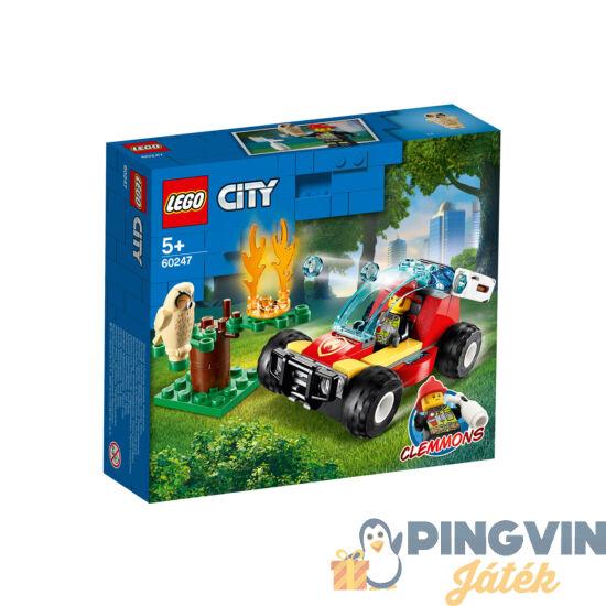 Lego City Fire Erdőtűz 60247