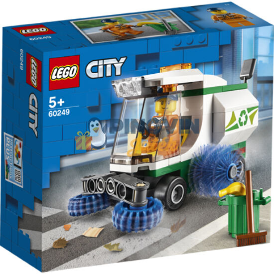 Lego City Great Vehicles Utcaseprő gép 60249