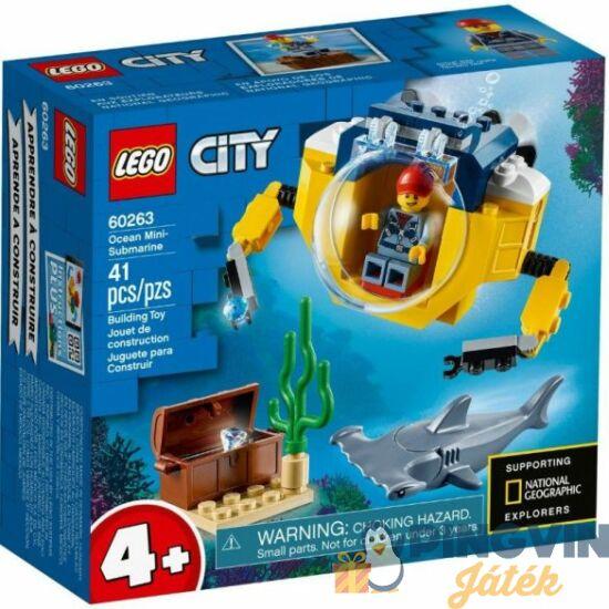 LEGO® City Oceans Óceáni mini tengeralattjáró 60263