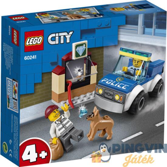 LEGO® City Police Kutyás rendőri egység 60241