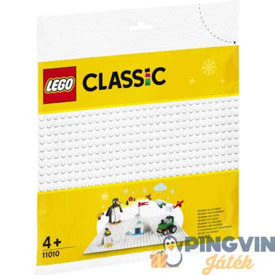 Lego Classic Fehér alaplap 11010