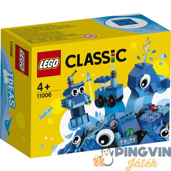 Lego Classic Kreatív kék kockák 11006