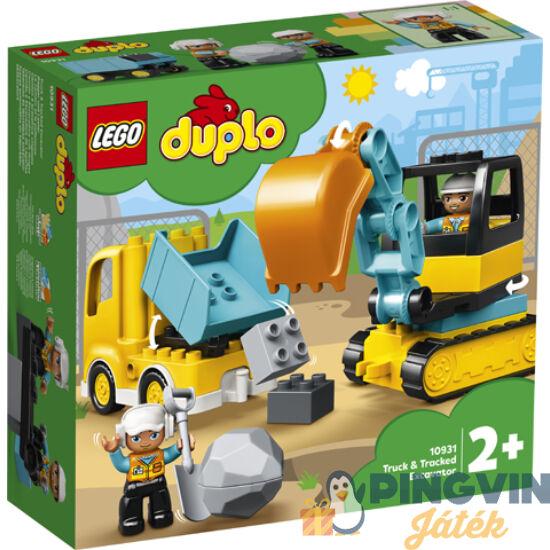 LEGO® Duplo Town Teherautó és lánctalpas exkavátor 10931
