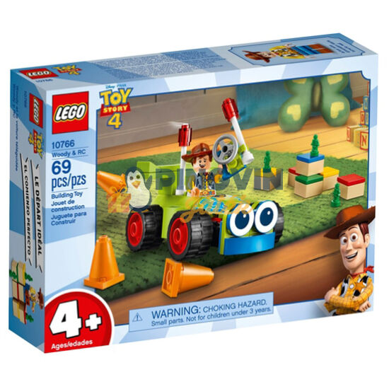 Lego® Toy Story 4. Woody éa az RC 10766