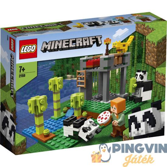 LEGO® Minecraft  A pandabölcsőde 21158