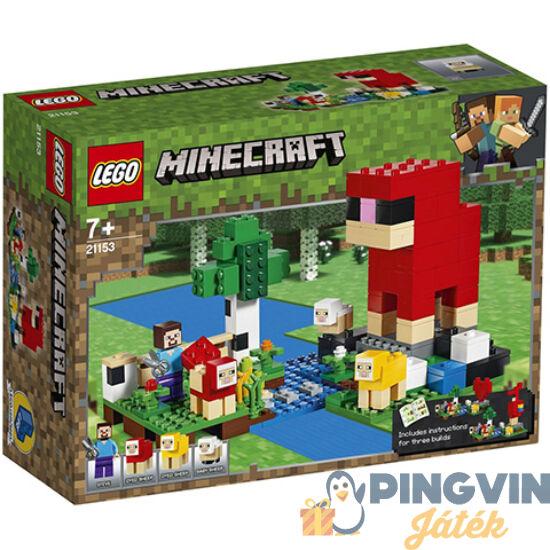 LEGO® Minecraft A gyapjúfarm 21153