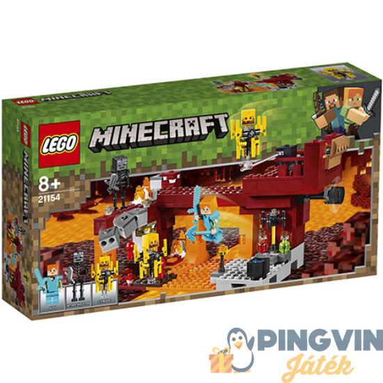 Lego® Minecraft Az Őrláng Híd 21154