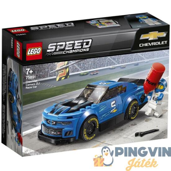 Lego Speed Champions Chevrolet Camaro ZL1 versenyautó 75891