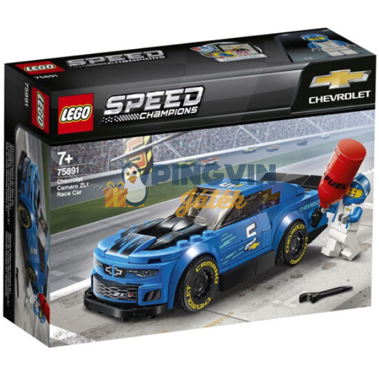 LEGO® Speed Champions Chevrolet Camaro ZL1 versenyautó 75891