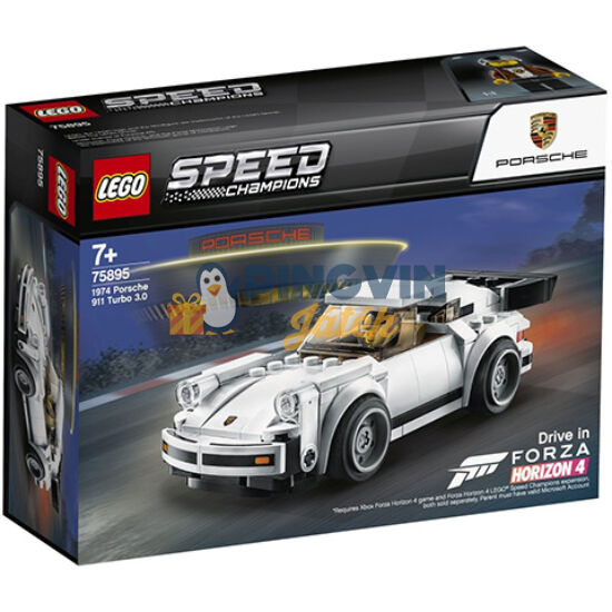 LEGO® Speed Champions Porsche 911 turbo 3.0 75895