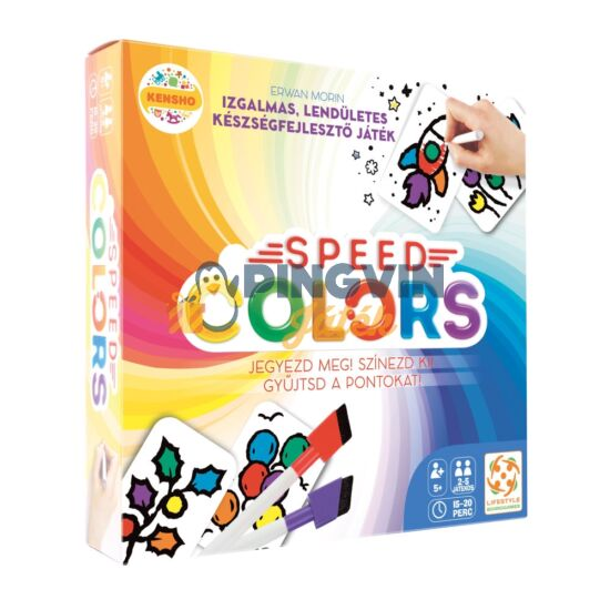 Speed Colors társasjáték - Lifestyle