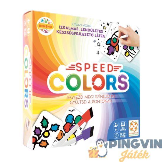 Alex Toys - Speed Colors társasjáték - Lifestyle (LS62845)