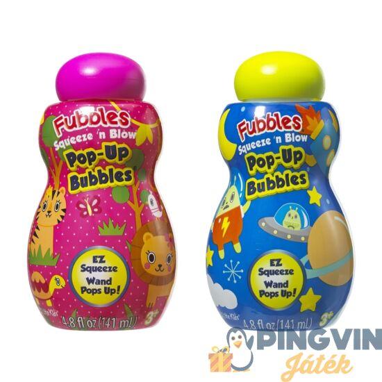 Fubbles - Little Kids: Nyomd És Fújd Buborékfújó 141 Ml (2 Féle) (142N)