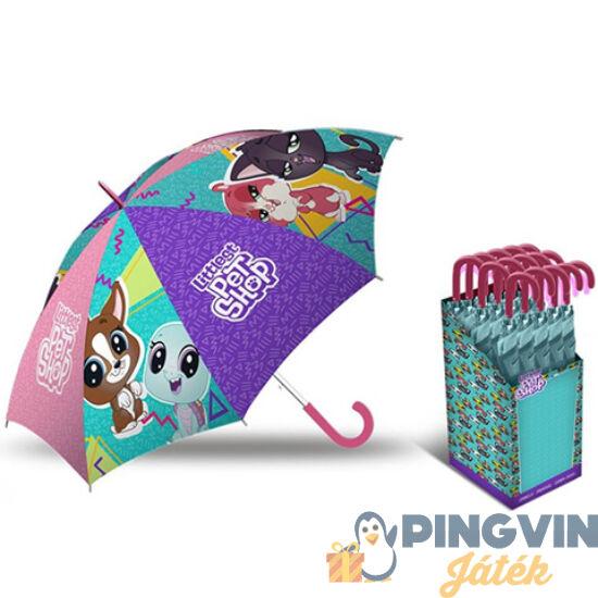 Kids Euroswan - Littlest Pet Shop manuális esernyő 40cm (LPS17008)