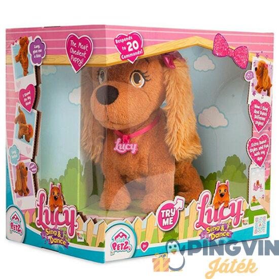 Lucy, a táncoló és éneklő interaktív kutyus - IMC Toys