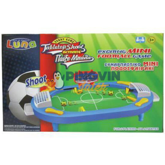 Luna - Asztali flipper foci ügyességi játékszett 41x28cm (000621017)