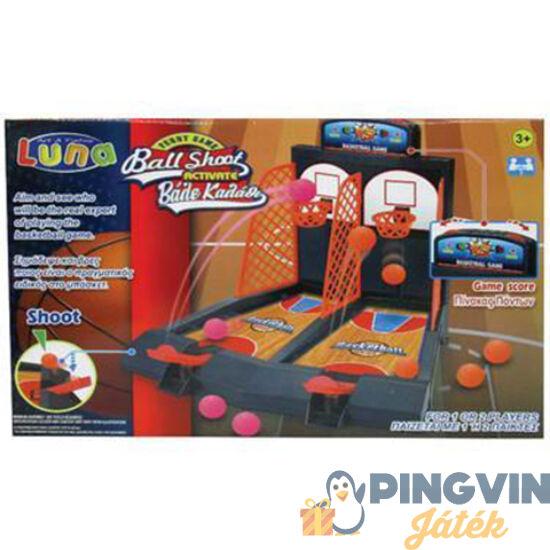 Luna - Asztali kétszemélyes verseny kosárlabda ügyességi játékszett 41x28cm (000621015)
