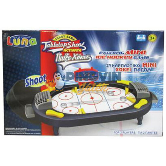 Luna - Flipperes Asztali hoki ügyességi játékszett 41x28cm