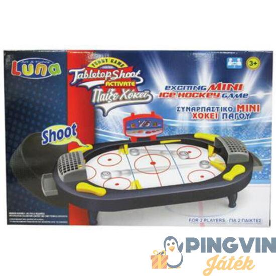 Luna - Flipperes Asztali hoki ügyességi játékszett 41x28cm (000621018)