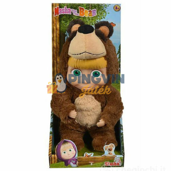 Simba Toys - Mása és a Medve: Mása baba maciruhában 25cm (109301064)