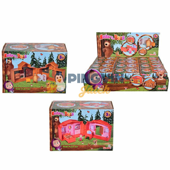 Mása és a Medve: Mini játékszett 2 változatban - Simba Toys