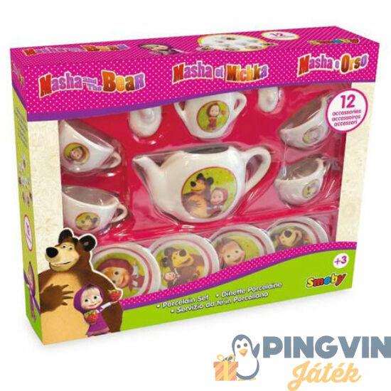 Simba Toys - Mása és a Medve porcelán teáskészlet (7600310581)