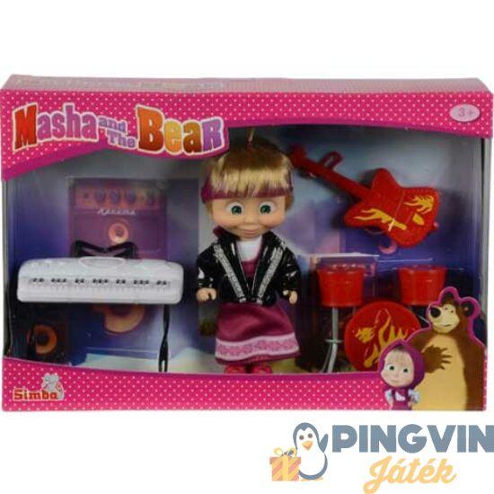 Simba Toys - Mása és a Medve: Mása a zenész figura szett (109301682)