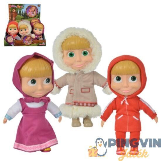 Mása és a medve: Mása baba 3-féle változatban 23cm-es - Simba Toys