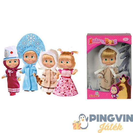 Mása és a medve: Mása baba többféle változatban - Simba Toys