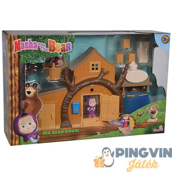 Mása és a medve: Nagy maciház játékszett - Simba Toys