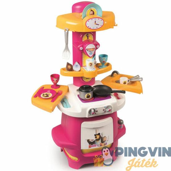 Mása és a medve játékkonyha kiegészítőkkel - Simba Toys