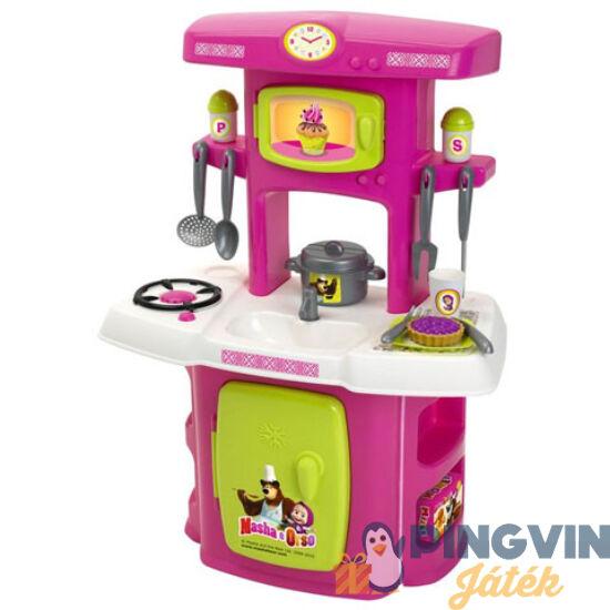 Simba Toys - Mása és a Medve mini konyha (7600001733)