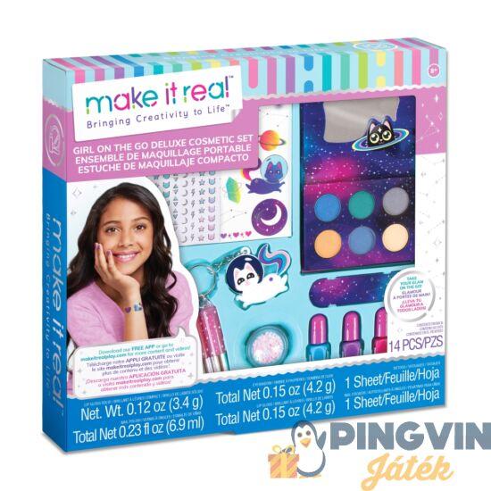 Make it Real - Szépség, Lányok A Világ Körül Smink Szett (MIR2463)