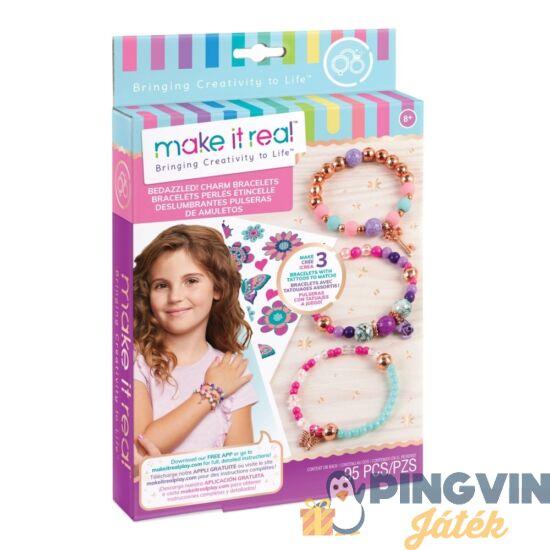 Make it Real: Bájos karkötő készítő szett - Virágzó kreativitás