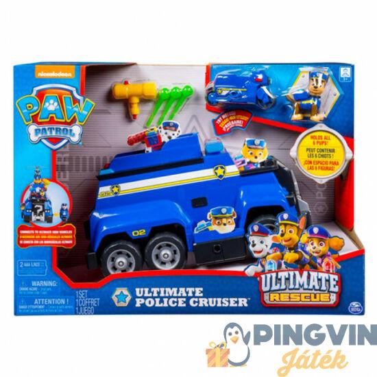 Spin Master - Mancs Őrjárat: Ultimate rescue jármű - Chase rendőrautója (6046716)