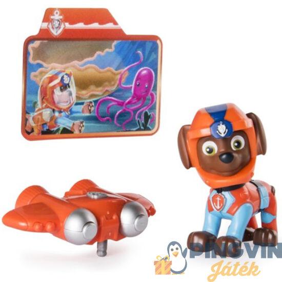 Mancs őrjárat: Sea Patrol világító Zuma játékfigura - Spin Master