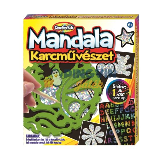 Creative Kids - Mandala Karcművészet