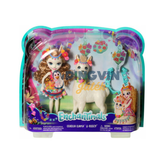 Enchantimals Luella Llama és Fleecy - Mattel