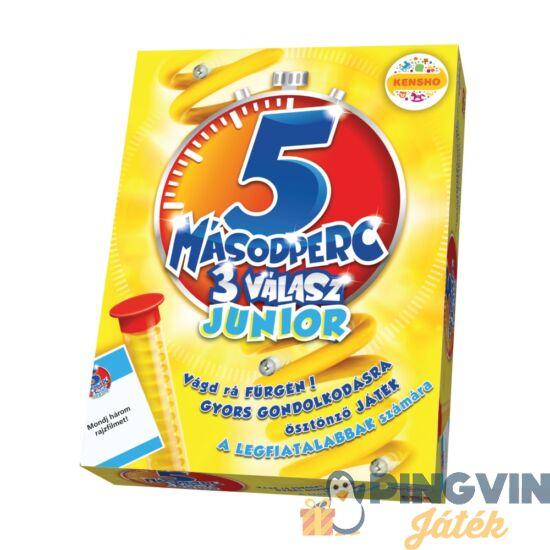 5 Másodperc 3 Válasz Junior társasjáték - Megableu