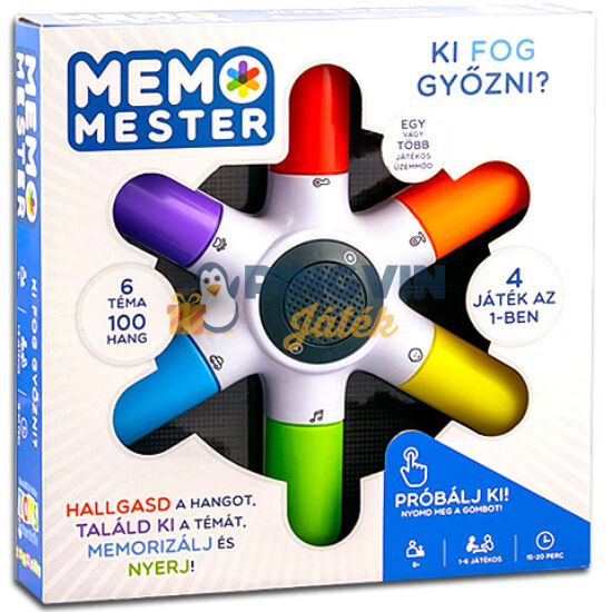 Flair Toys - Memo Mester társasjáték (4519108)