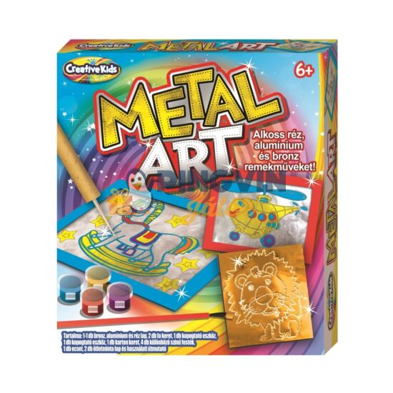 Creative Kids - Metal Art kreatív szett