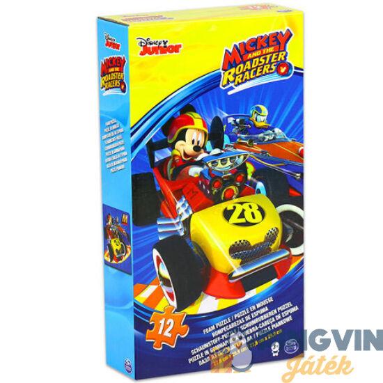 Mickey a roadster versenyző szivacs puzzle 12db-os - Spin Master