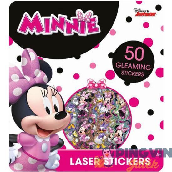 Minnie Egér csillámos matrica szett 50db - Jiri Models