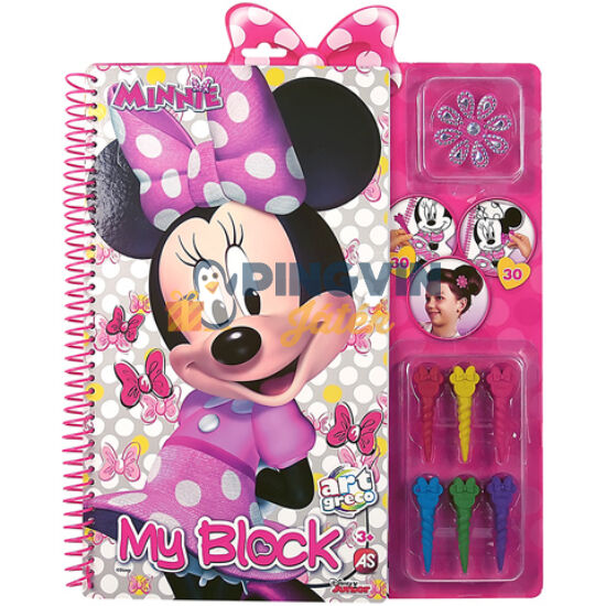 Minnie Egér kreatív spirálos színező - AS Toys