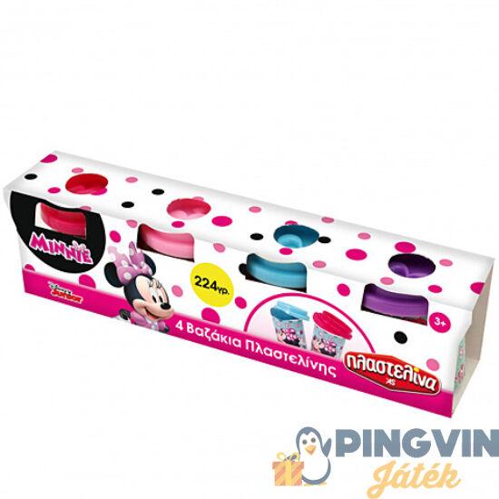 AS Toys - Minnie egér 4db-os gyurmaszett tégelyben (1045-03578)